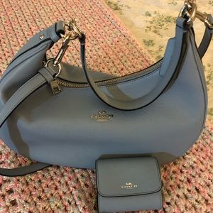 Authentic Coach Harley Bag With Wallet